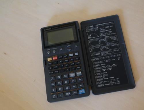 なつかしの関数電卓