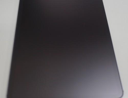 iPadのフィルム替え。